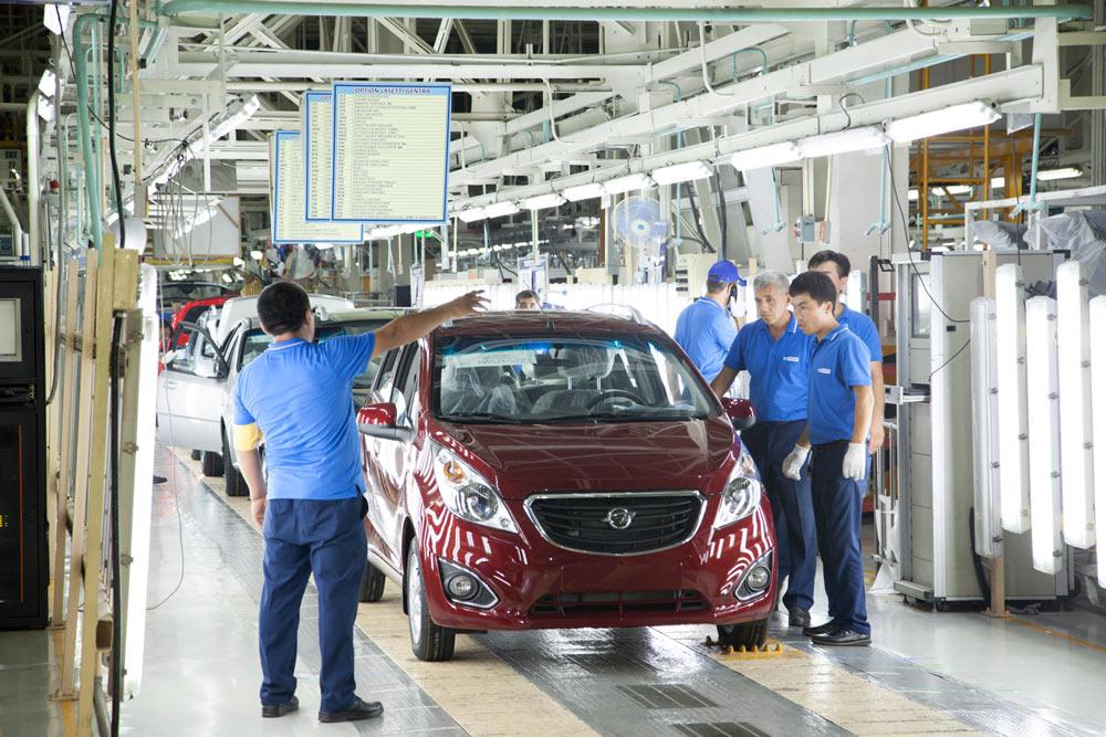 пост контроля качества GM Uzbekistan