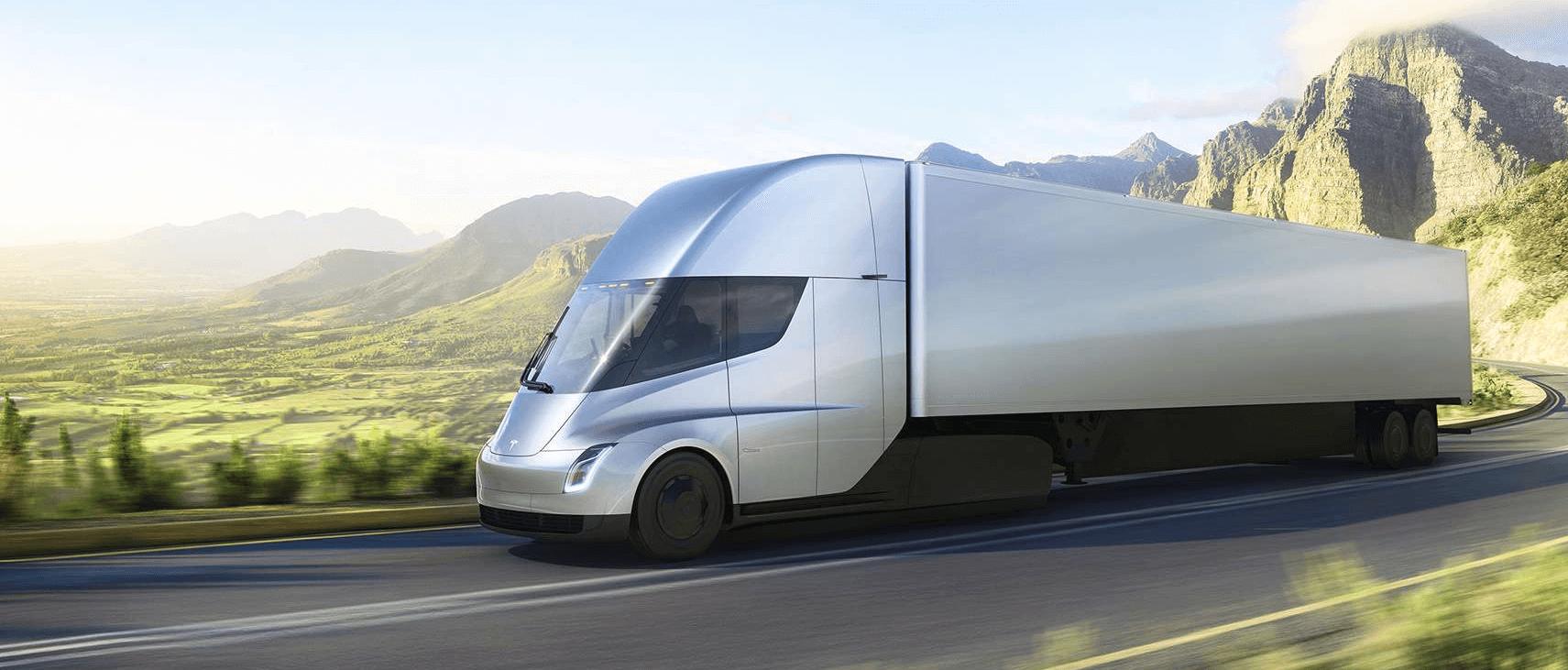 """Илон Маск: """"Мы сделали грузовик Tesla похожим на пулю"""""""