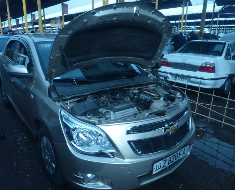 Chevrolet Cobalt Сергели базар