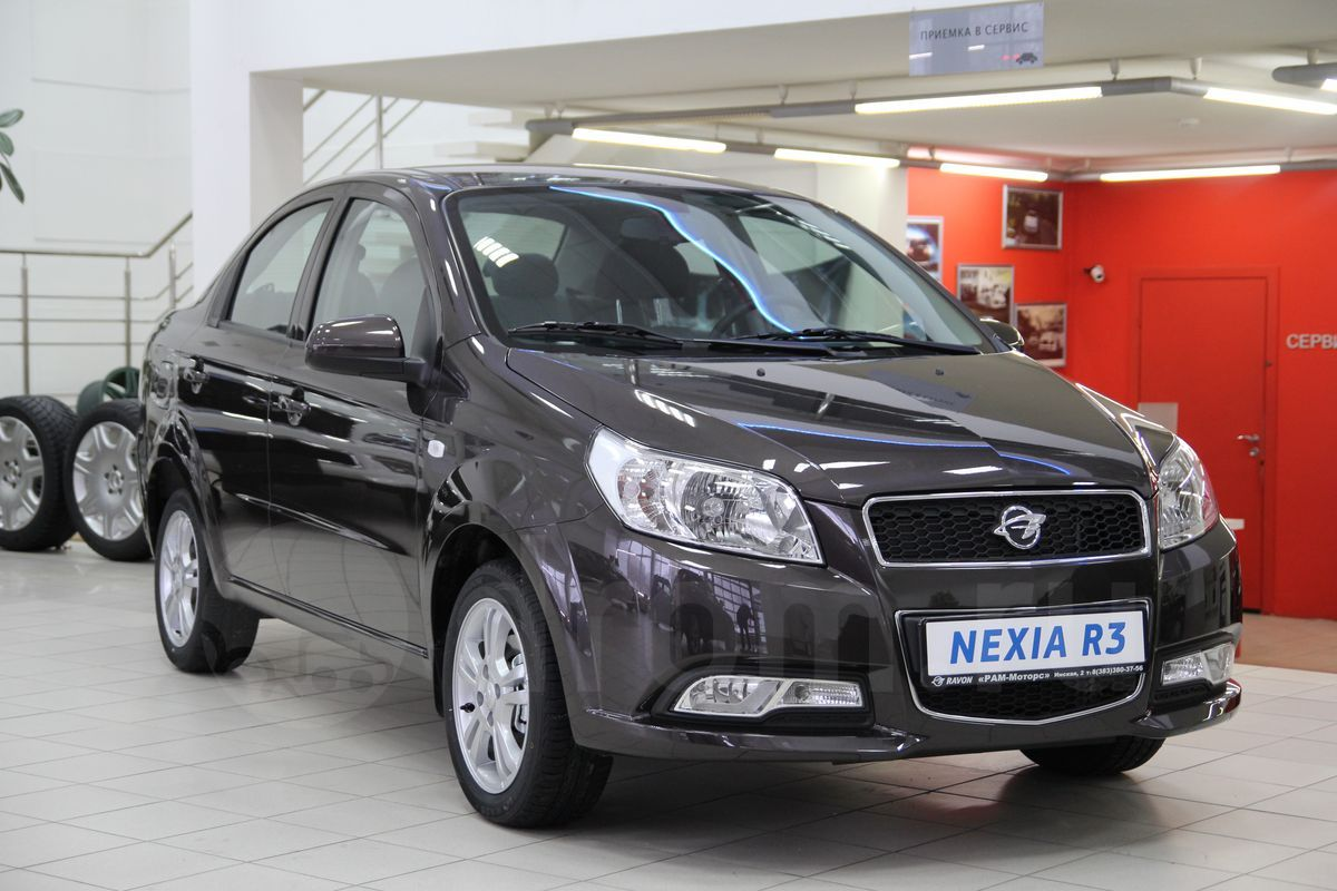 Chevrolet Nexia R3 - Баклажан