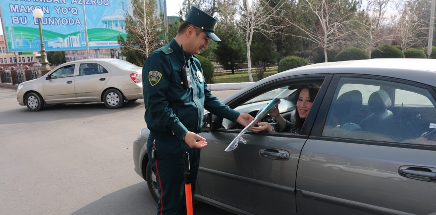 УБДД 8 Марта ГАИ Ташкент