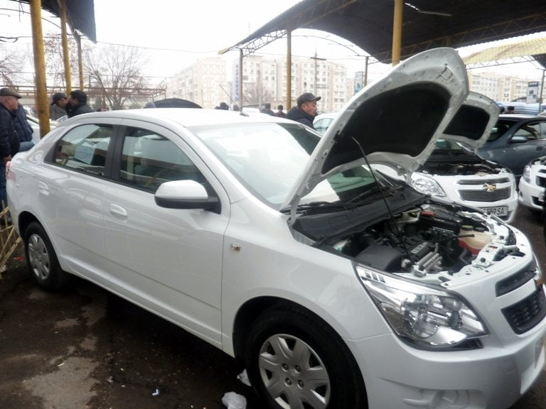 """Chevrolet Cobalt LS, """"Первая Евро позиция"""", год выпуска: 2015; Пробег: 37 000 км.<br />Цена: 79 500 000 сумов."""