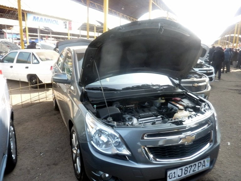 """Chevrolet Cobalt LT, """"Вторая позиция"""", год выпуска: 2013; Пробег: 113 000 км.<br />Цена: 67 200 000 сумов."""