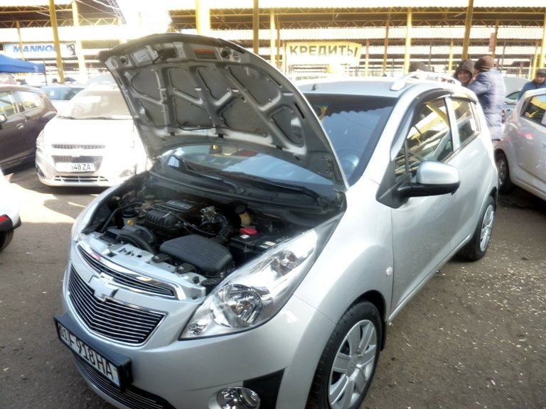 Chevrolet Spark III-я позиция LTZ, год выпуска: 2011; Пробег: 250 000 км.<br /> Цена: 45 100 000 сумов.