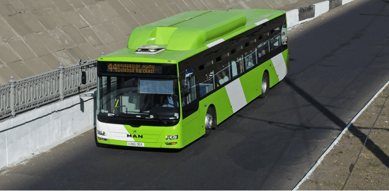 Автобус MAN Ташкенте Узбекистан