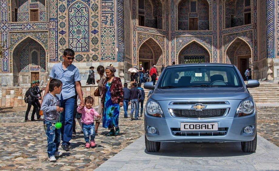Chevrolet Cobalt Узбекистан