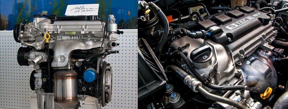 Cobalt Lacetti Двигатель