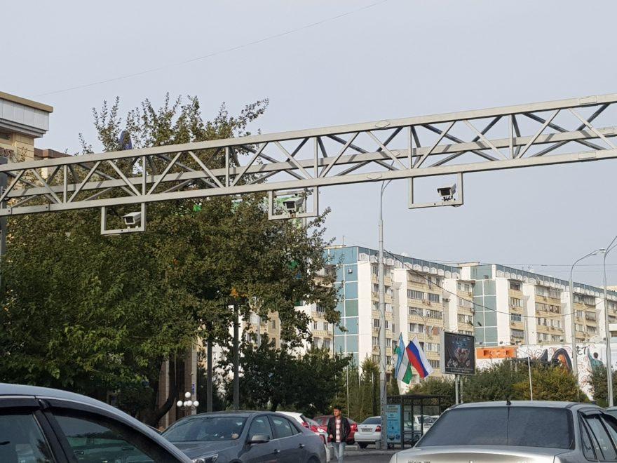 Камеры на перекрестках Ташкента автоматическая фиксация и штрафы с камер