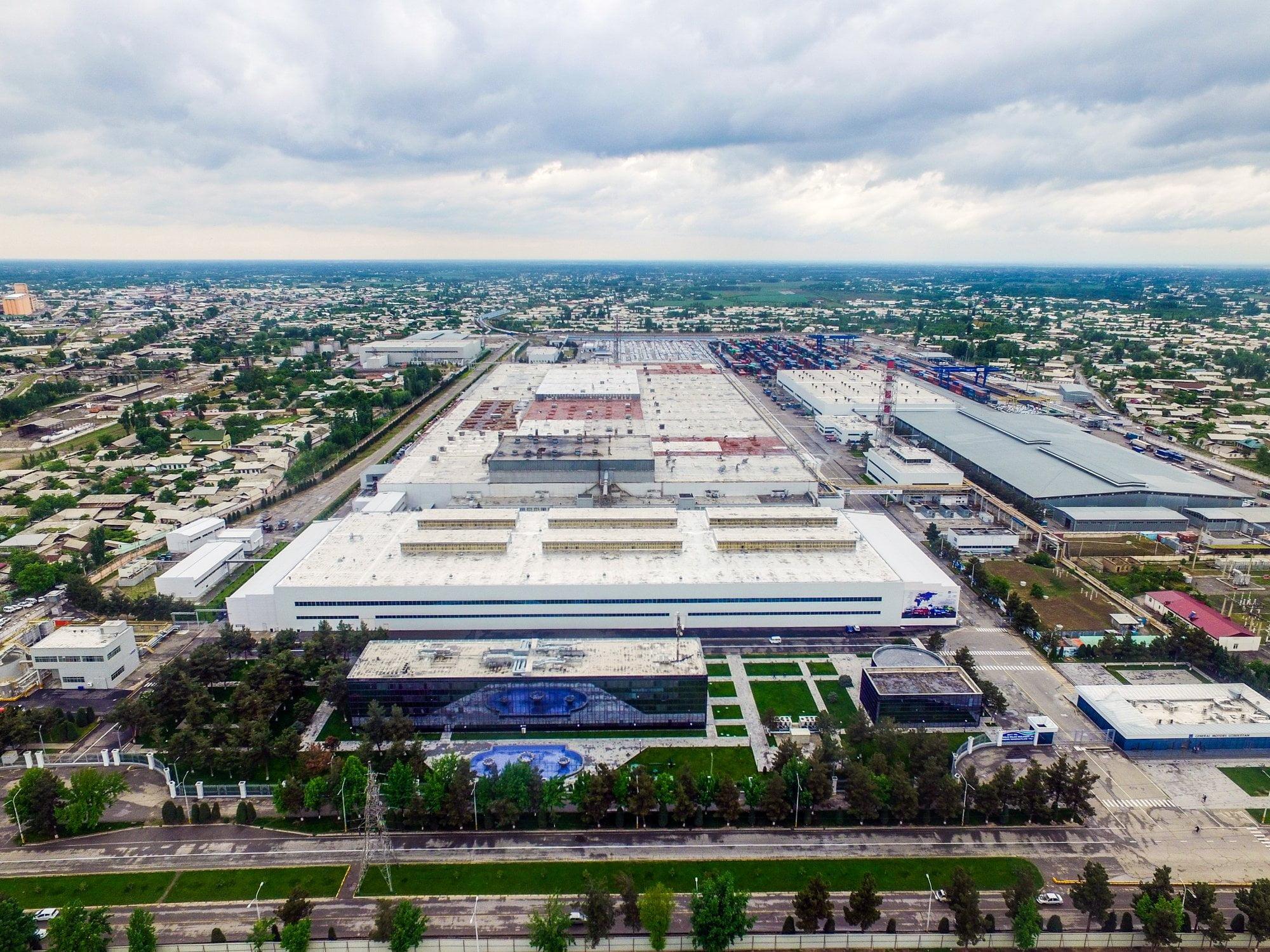 Завод GM Uzbekistan в Асаке