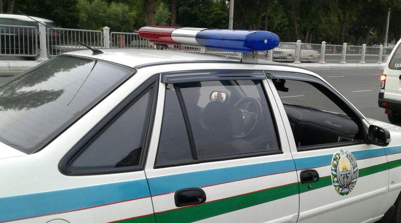 Автомобиль ГАИ Узбекистан