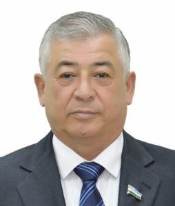 Председатель Комитета повопросам обороны ибезопасности Сената Олий Мажлиса Фаррух Дадаходжаев