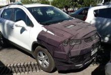 Chevrolet Tracker в Ташкенте в камуфляже - экспериментальная машина