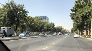 Открыт проезд по Нукусской возле посольства России в Ташкенте