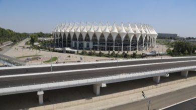 Путепровод на ул. Дружбы народов у стадиона Бунедкор-Миллий