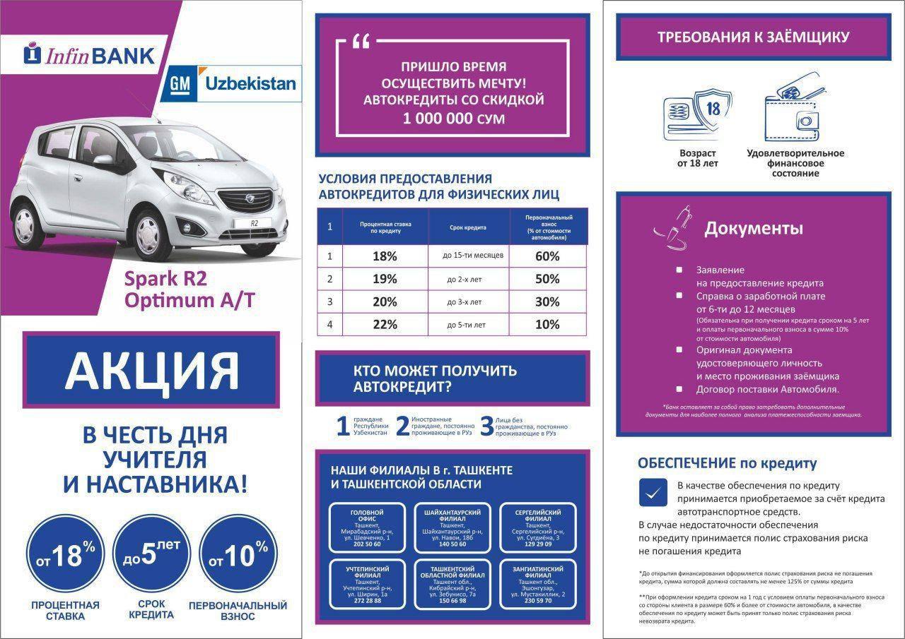 узбекистан кредит олиш конунларироссельхозбанк взять кредит проценты