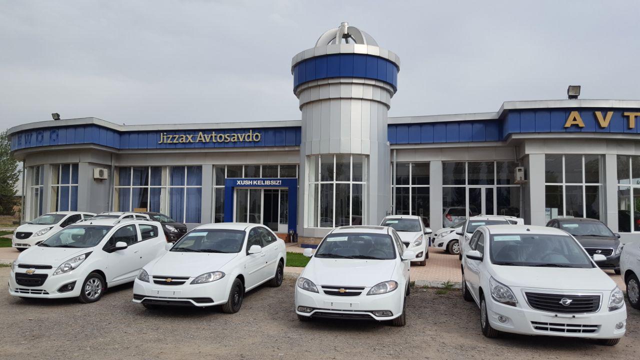 GM Uzbekistan Avto Salon Jizzax