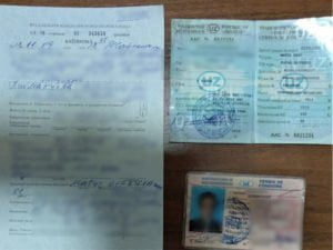 Протокол о нарушении ПДД Ташкент Узбекистан