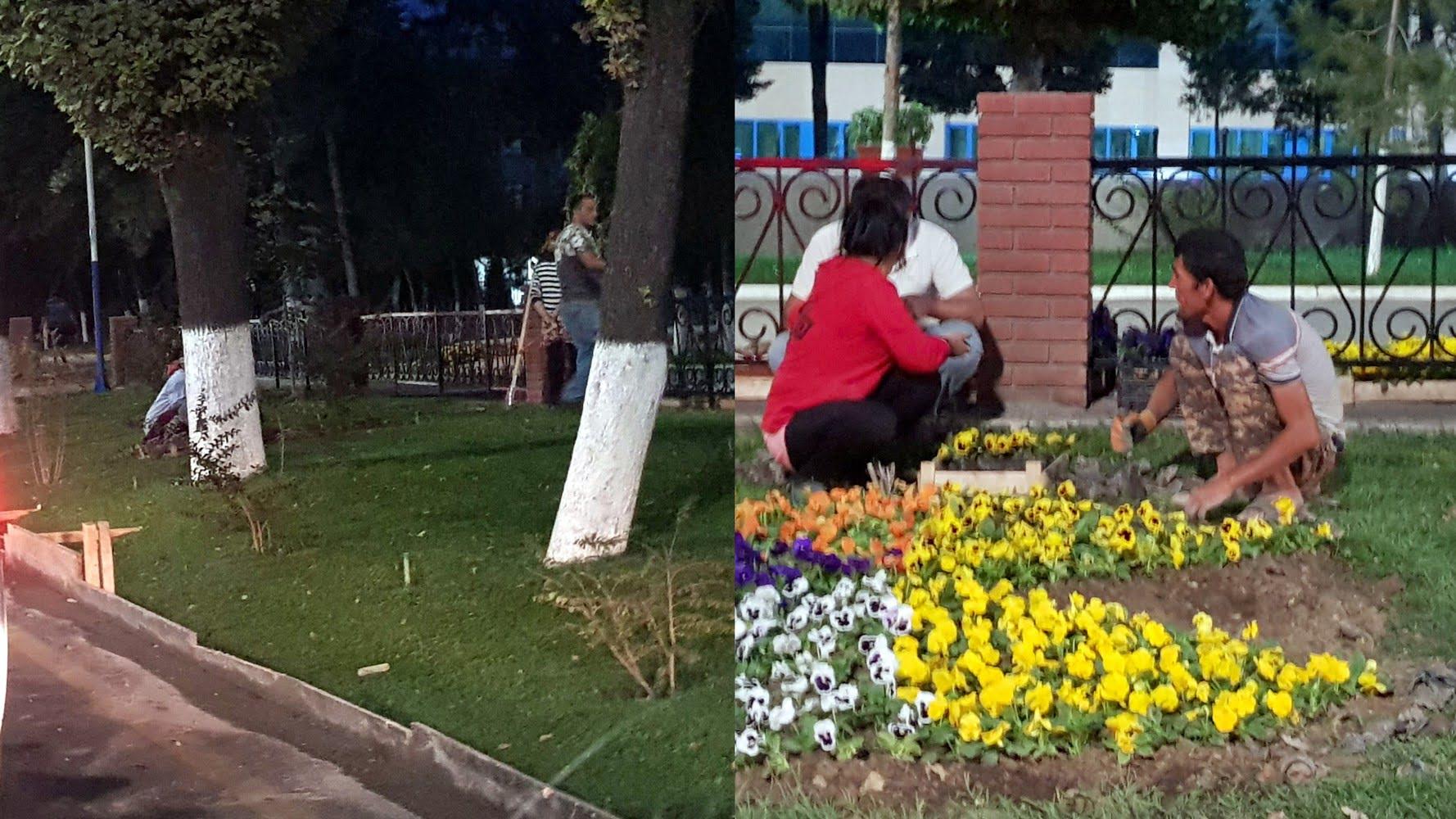 Подготовка к визиту Владимира Путина в Ташкент