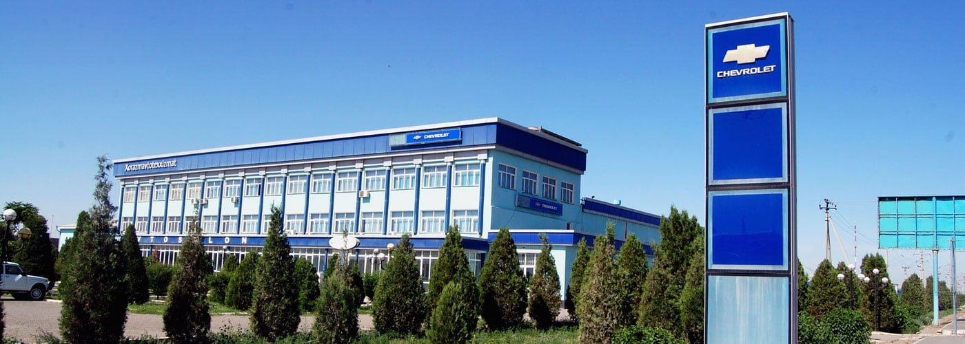 Xorazm va Urganch GM Uzbekistan Avto salon manzili va telefon raqamlari