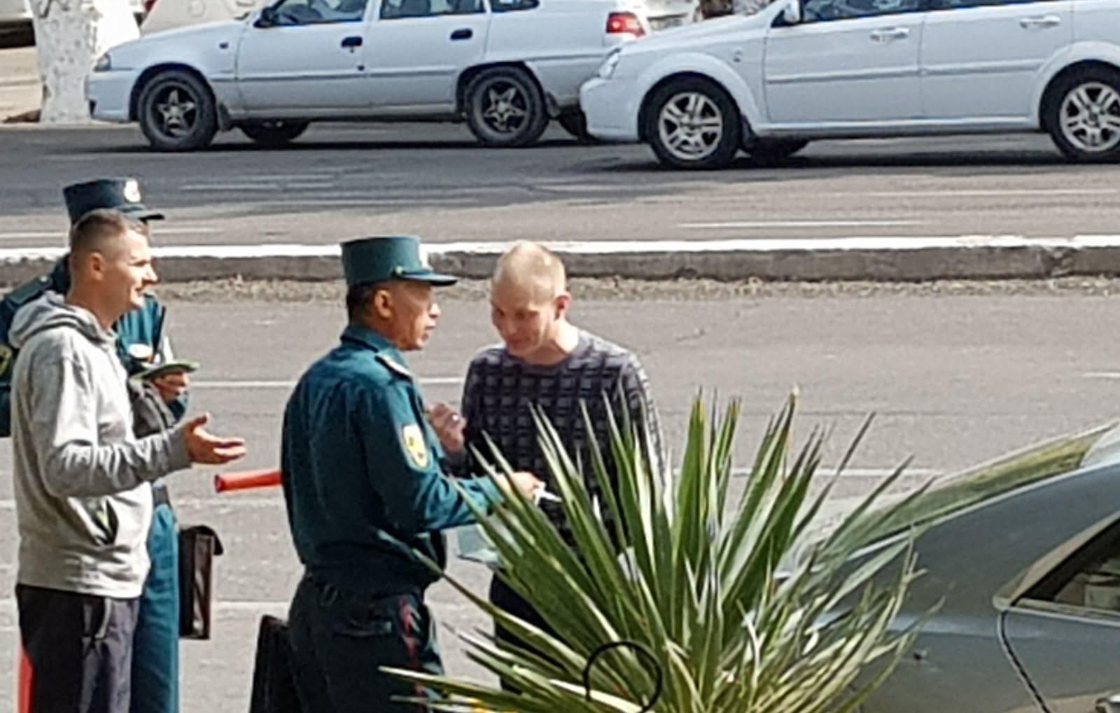 Милиция ГАИ в Ташкенте