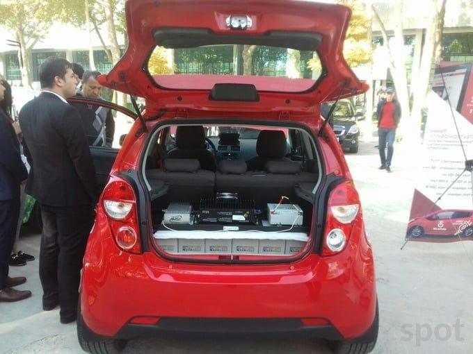 Электромобиль Chevrolet Spark в Узбекистане Прототип электрокара в Ташкенте