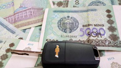 Узбекский сум - купюры номиналом 5 тысяч сумов