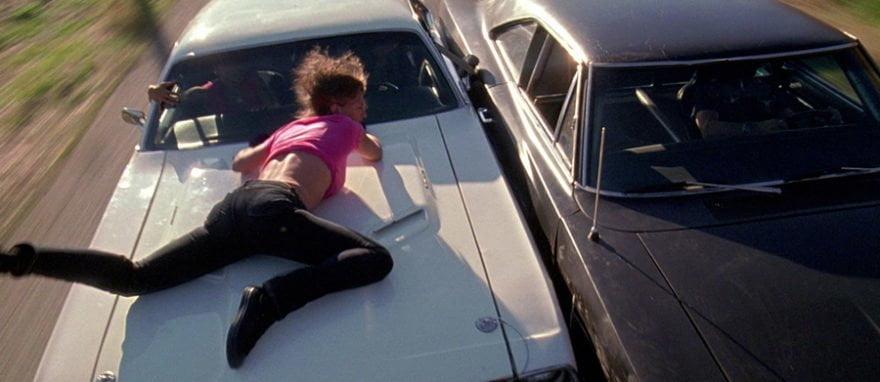Dodge Квентин Тарантино Доказательство Смерти Поездка на капоте