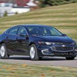 Новый цвет Chevrolet Malibu — Old Blue Eyes