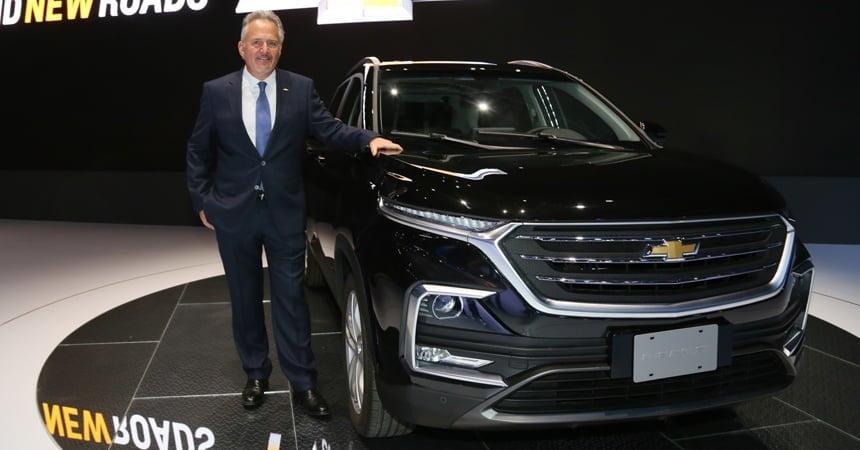 Новая Chevrolet Captiva