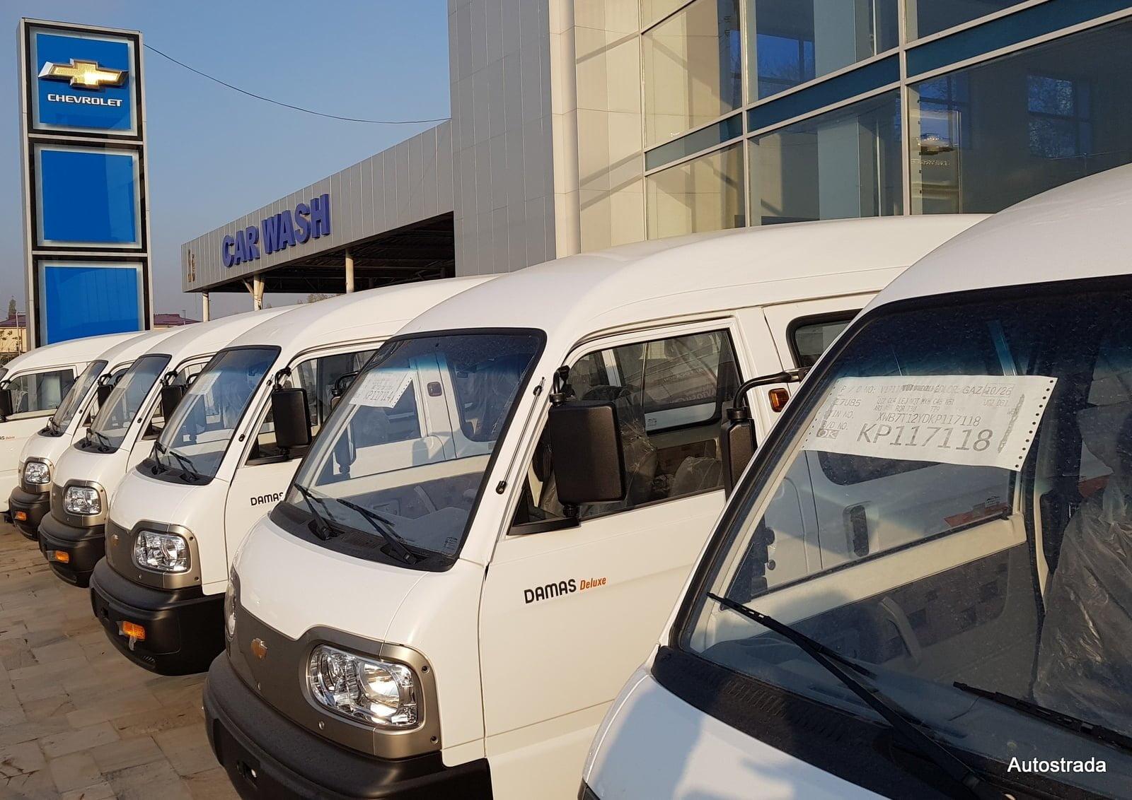 Chevrolet Damas в Автосалоне в Узбекистане