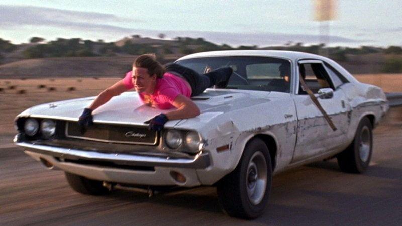 Dodge Challenger Квентин Тарантино Доказательство Смерти Поездка на капоте