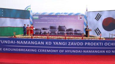 Началось строительство Завод Hyundai в Узбекистане — производство автомобилей Hyundai в Наманганской области