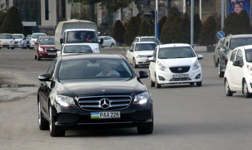 Специальные серии автомобильных номеров в Узбекистане - 1