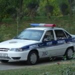 VSF милиция патрульно-постовая служба ГАИ в Ташкенте
