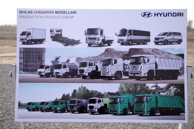 Завод Hyundai в Узбекистане — производство автомобилей Hyundai в Наманганской области