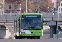 Автобус Mercedes Benz Connecto Low Floor в Ташкенте на маршруте №72