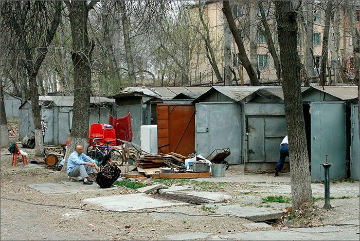 как сносят гаражи в Ташкенте