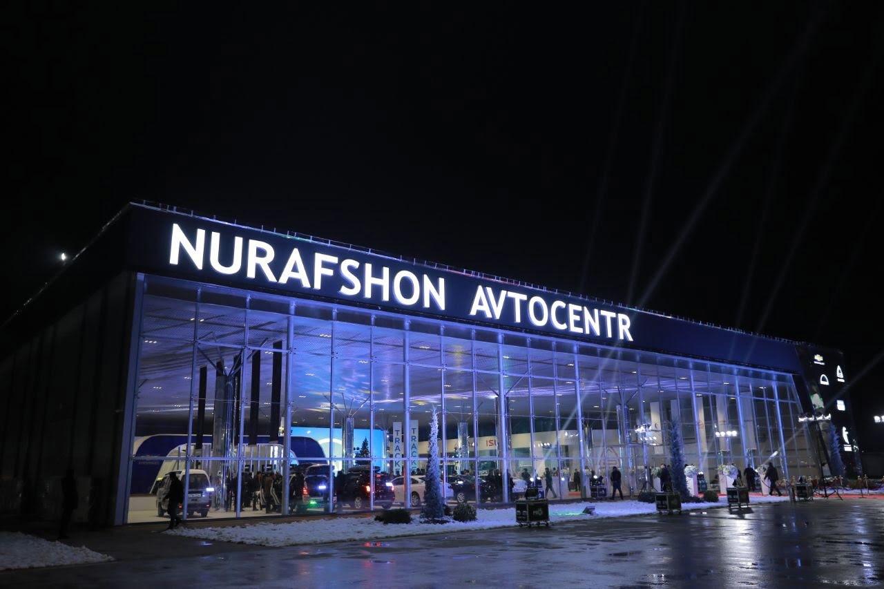 Nurafshon Avtocentr - автосалон GM Uzbekistan, MAN, Kamaz, Isuzu