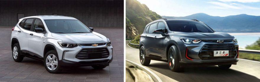Новый Треккер выглядит в одном стиле с Chevrolet Orlando второго поколения, которое не будет собираться в Узбекистане.