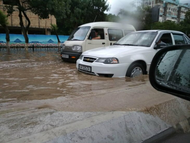 В Ташкенте займутся потопами на улицах города