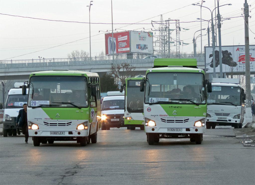 Автобусы ISUZU в Ташкенте