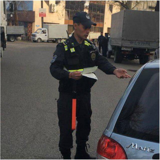 Новая форма сотрудников милиции и инспекторов ГАИ в Узбекистане - 2
