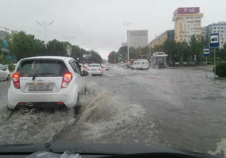 Потоп в Ташкенте