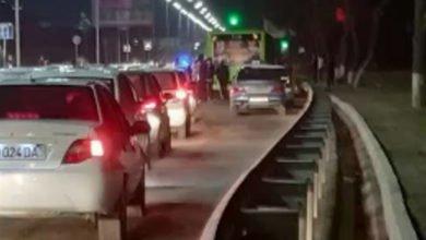 водитель скутера разбился в Ташкенте