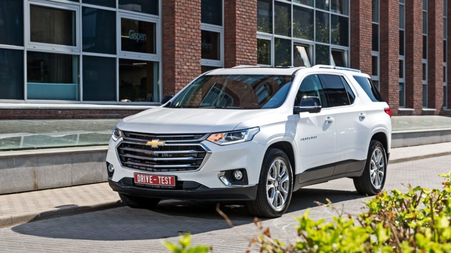 Chevrolet Traverse - комплектация Premier AWD