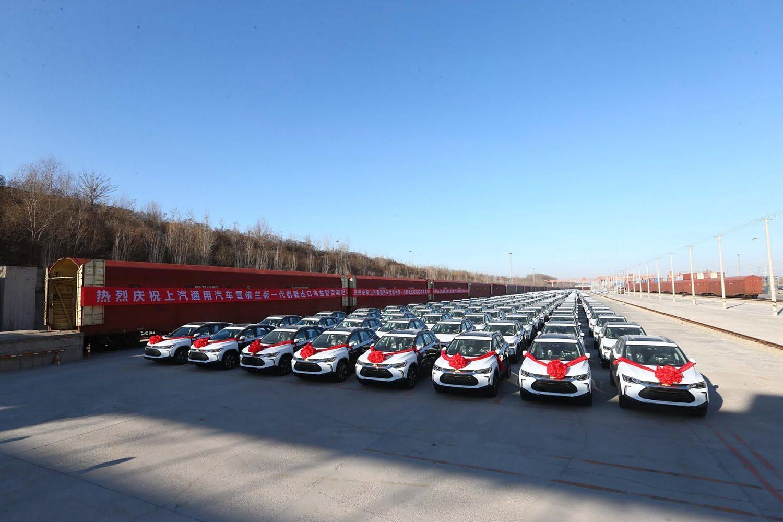 Первая партия из 209 Chevrolet Tracker 2020 отправлена в Узбекистан из Китая