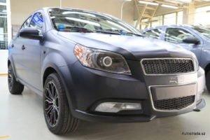 Chevrolet Nexia R3 матового цвета