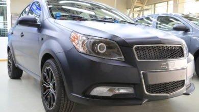 Photo of Матовый цвет авто — теперь на заказ. UzAuto Motors начал красить машины в матово-черный цвет