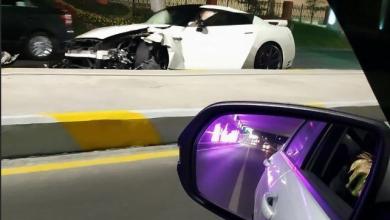 Photo of Видео: тонированный Nissan GTR столкнулся со Спарком и Матизом в Ташкенте
