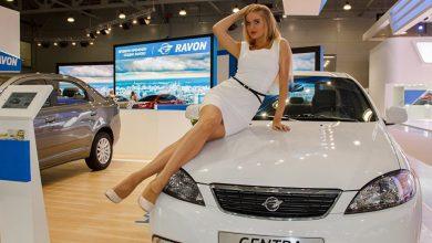 Ravon Gentra на автосалоне в Москве